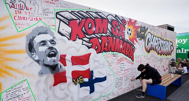 Denmark Eriksen Euro 2020 Soccer
