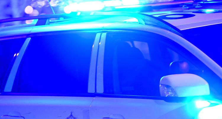 Bild på polisbil.