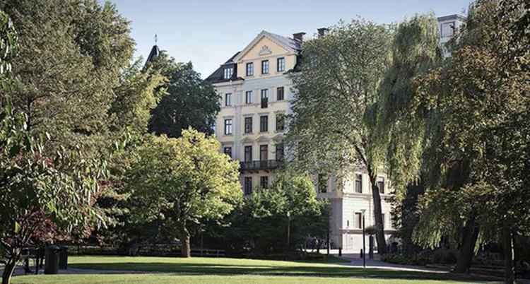 Bild på Bukowskis huvudkontor i Stockholm.