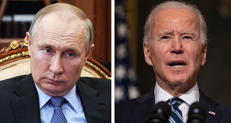 Två porträtt ses intill varandra, det är två män i kostymer, slipsar och tunt hår.