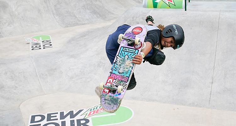 Olympics Qualifying Skateboarding