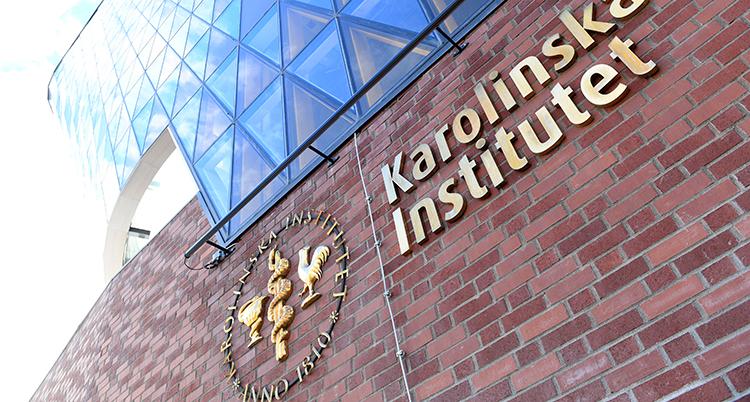 Bild på Karolinska institutet i Stockholm.