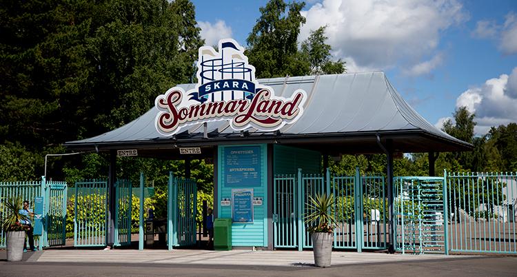 Skara Sommarlands entré.