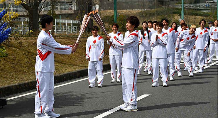 Olympics Tokyo Torch Relay Start