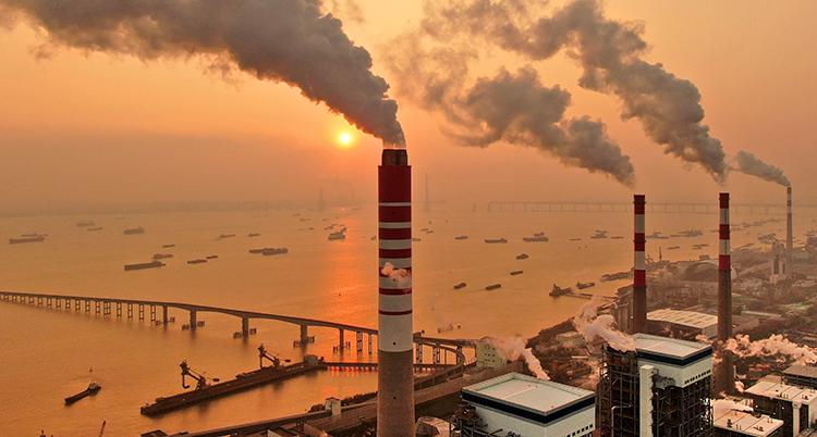 Fabriker i Kina.