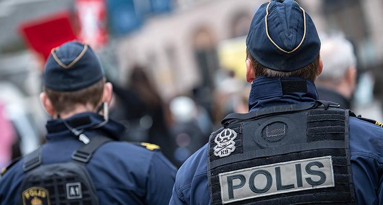 Bild på poliser.