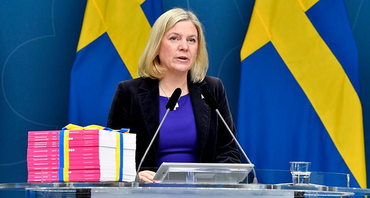 Magdalena Andersson är Sveriges minister för pengar.