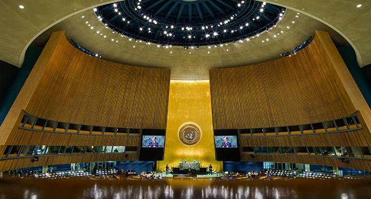 UN General Assembly South Korea