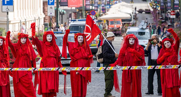 Extinction Rebellion aksjonerer i Oslo