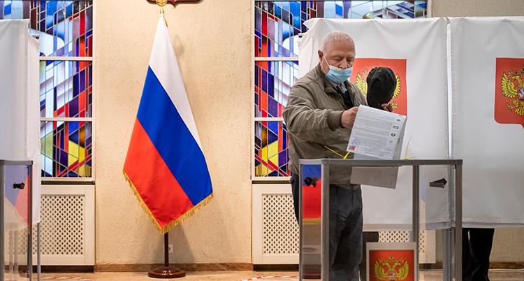 Lithuania Russia Election