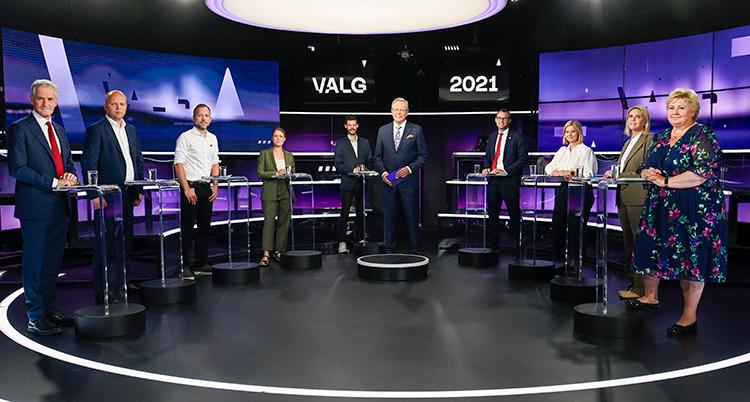 Partilederdebatt